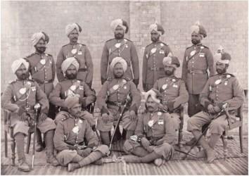 Battle of Saragarhi Sikh Soldiers