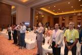 A standing ovation for the session. It was exhilarating.